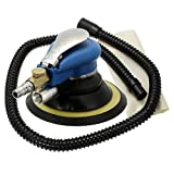 KING DO WAY 6'' Random Orbital Air Sander Palm Orbit Sander Auto Body Orbit DA Sanding With Bag and Hose 150mm
