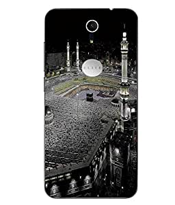 Make My Print Religion Printed Multicolor Soft Back Cover For Swipe Elite Plus