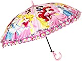 #1: Umbrella for Kids Cartoon/Disney Character Print Umbrella ( Multicolor )