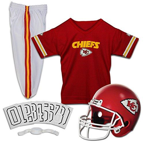 Franklin Sports NFL Deluxe Jugenduniform-Set M Kansas City Chiefs Kansas City Chiefs Uniform