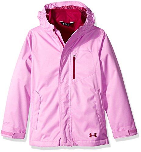 Under Armour ColdGear Infrared Gemma 3-in-1-Jacke für Mädchen Verve Violet