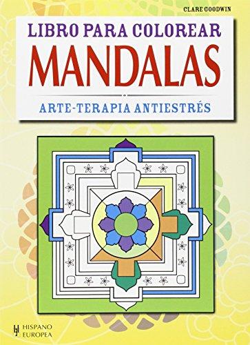Mandalas (Libro para colorear) por Clare Goodwin