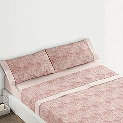 Burrito Blanco Juego de sábanas 393 Maquillaje de cama de 150x190/200 cm