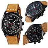 Royal India Overseas Latest Collection of Fashionable Watches Set of 2 - for Boys & Men(Brown, Tan)