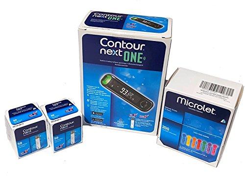 Contour next One - Kit misuratore di glicemia + 100 Strisce Reattive