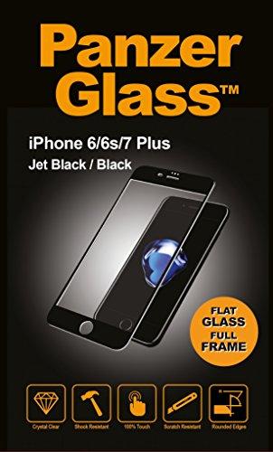 Image of PanzerGlass iPhone 6/6s/7/8 PlusJetBlack Displayschutz