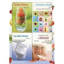 Mince sur toute la ligne ! : Coffret en 4 volumes : Verrines Minceur, Le Décodeur minceur, Les Aide-minceur, Le petit livre de la minceur