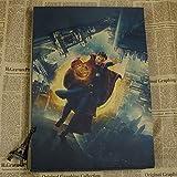 qwerz Papier Kraft Rétro Affiche Avengers Film Bizarre Médecin Merveilleux Devis Pas Cher Sticker Mural 42 * 30cm R