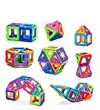 #5: Happy GiftMart 20 Piece Magical Magnetic Building Blocks Construction Learning Educational Gel Mag GelmagToy Set