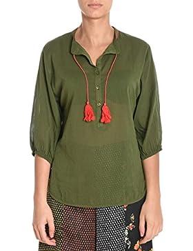 Merci Camicia Donna C244MILITARE Cotone Verde