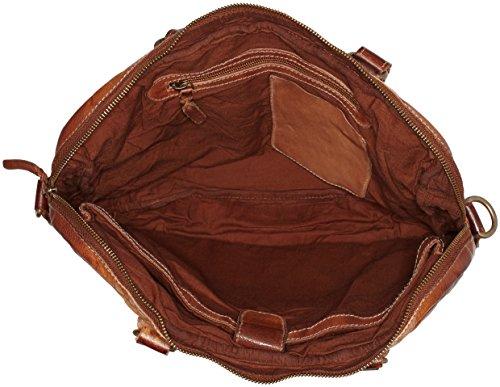 Legend Unisex-Erwachsene Trabia Laptop Tasche, 30x7x37 cm Braun (Cognac)
