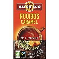 Alter Éco - Thé Rooibos Au Caramel 40G - Lot De 4 - Vendu Par Lot - Livraison Gratuite En France