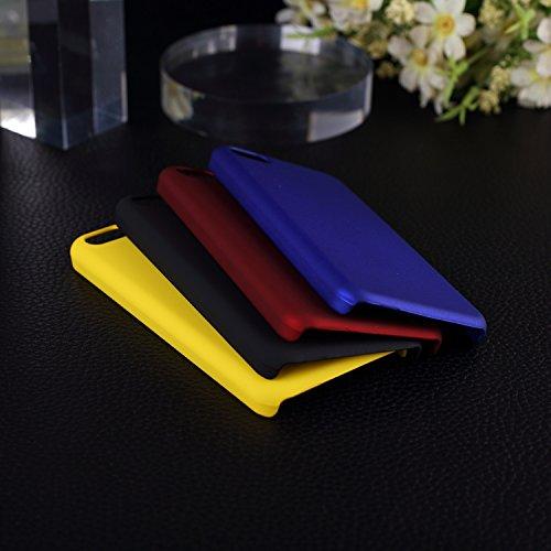 iPhone Case Cover Couverture IPhone 5C. Étui de protection en plastique anti-rayures pour IPhone 5C ( Color : Red , Size : 5C ) Black