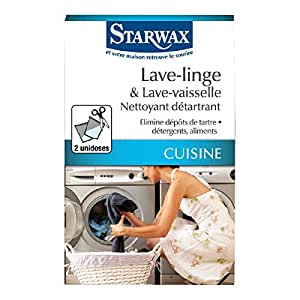 Nettoyant détartrant lave linge et lave vaisselle Starwax