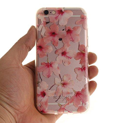 Voguecase® für Apple iPhone 7 Plus 5.5 hülle, Schutzhülle / Case / Cover / Hülle / TPU Gel Skin (Pflaumen 16) + Gratis Universal Eingabestift Eibisch 02