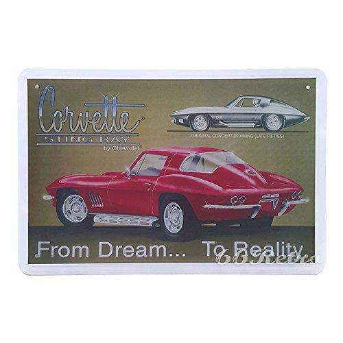 66retro-chevrolet-corvette-sting-ray-from-dream-to-reality-vintage-retro-metal-tin-sign-wall-decorat