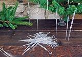 Set of 35 Icicle Vintage Christmas Tree Lights Decorations Xmas Ornaments 14cm
