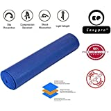 Easypro Fitness Non Slip Yoga Mat 6 mm For Men & Women (Blue Color) Pattern#866