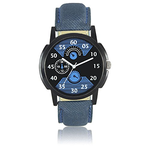 Frida Analog Black Dial Men's @ Womane'sWatch-WCH-FR151512  available at amazon for Rs.220