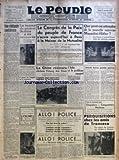 Telecharger Livres PEUPLE C G T LE No 6091 du 25 09 1937 UNE EDIFIANTE CONFIDENCE PAR RAYMOND BOUVER LA FEMME DU GENERAL SKOBLINE A ETE RETROUVEE A PROPOS DE L ENQUETE SUR LA PRODUCTION CONCOURS D ACCORDEON LE CONGRES DE LA PAIX DU PEUPLE DE FRANCE S OUVRE AUJOURD HUI A PARIS A LA MAISON DE LA MUTUALITE LA CHINE RESISTERA DECLARE TCHANG KAI CHEK L ITALIE ET LE PROBLEME ESPAGNOL QUE PEUT ON ATTENDRE DE LA NOUVELLE ENTREVUE MUSSOLINI HITLER RIPOSTES AUTRES PARENTS PAUVRES PAR EUGENE MOREL (PDF,EPUB,MOBI) gratuits en Francaise