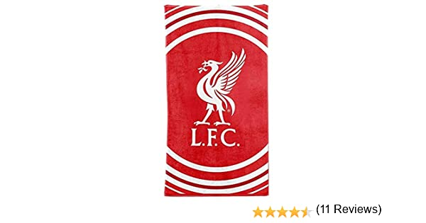 L.F.C Serviette de Plage Officielle Liverpool FC 100/% Coton 70 x 140 cm