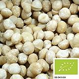nueces de macadamia 1kg orgánicas, enteras, no saladas y sin aditivos de cultivo ecológio controlado