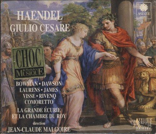 Haendel - Giulio Cesare / Bowman, Dawson, Laurens, Malgoire [Import anglais]