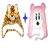 #1: Light Gear Baby Cartoon Fancy Fur Caps (Combo)