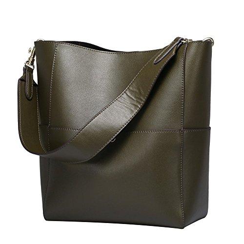 Mode féminine Vintage fourre-tout en cuir sac à bandoulière sac à main sac à main
