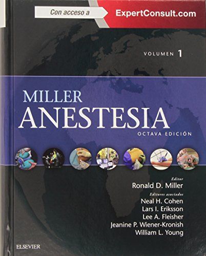Anestesía - 8ª Edición (+ ExpertConsult)