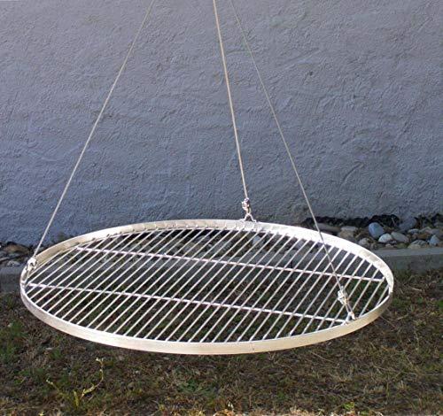 70 cm Grillrost Edelstahl Stababstand 14/15 mm V2A 1.4301 f. Grill Schwenkgrill Feuerschale Dreibein Feuerstelle (Feuerstelle Kostüm)