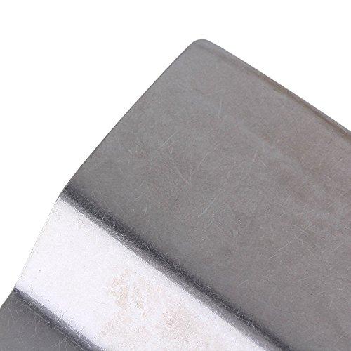 cnbtr Silber 52MM BREITE Edelstahl oszillierendes Werkzeug Universal Flexible Klinge Schaber Multi Tool Set von 20