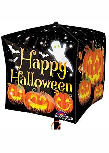 Happy Halloween citrouilles Cubez ballon