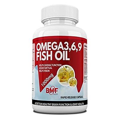 BMF Health High Strength Omega 3,6,9 Essential Fatty Acids 1000mg
