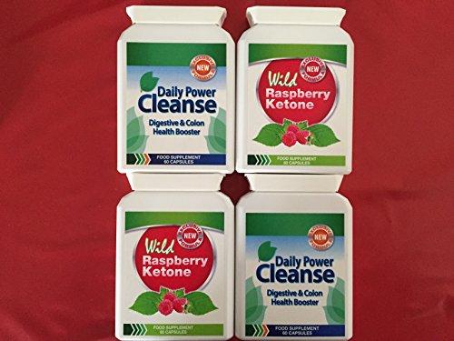 wild raspberry ketone 60 cpsulas daily power cleanse 60 cpsulas buy - Ultrapur Wild Raspberry Ketone Et Bioslim Daily Power Cleanse
