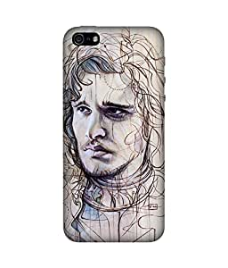 chnno game of thrones 3d Printed Back Cover For Apple iPhone 5s