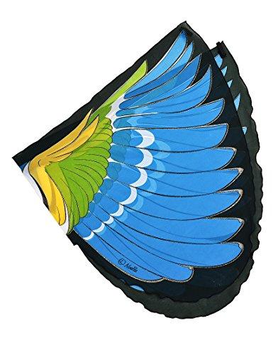 DREAMY DRESS-UPS Alas, pájaro, Blue-Winged Warbler (vermivora cyanoptera)