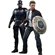 Avengers - Set figuras de Capitán América y Steve Rogers (Hot Toys HOT902186)