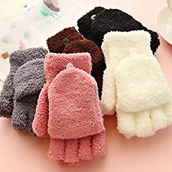 Cosanter venta caliente 1 par mujeres de la manera guantes sin dedos invierno otoño mano calentador de la muñeca guantes de invierno accesorios de vestir