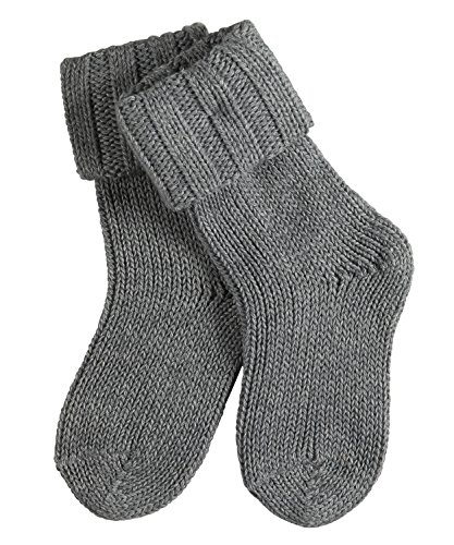 FALKE Baby Socken Flausch - Baumwollmischung, 1 Paar, versch. Farben, Größe 1-18 Monate - Kuschelig, weicher Strumpf durch Baumwoll-/Merinowoll-Kombination