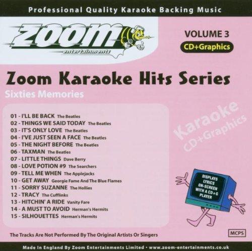 Karaoke Hits Cdg Sixties Memories