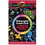 Melissa & Doug Holographic Combo Pack: 4 Assorted Scratch Art Boards