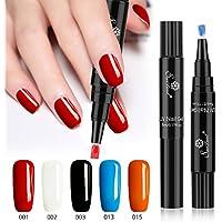 Esmalte de uñas de gel de un paso, no necesita base, Saviland 3 en 1 Soak Off UV LED esmalte de uñas Kit