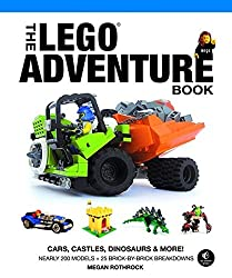 The LEGO Adventure Book V 1 - Cars, Castles, Dinosaurs and More!