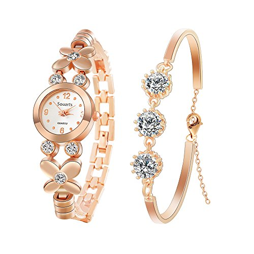 Hoomall Women's Wrist Watches wi...