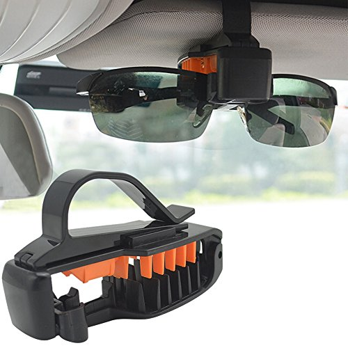 Brillen Halter Auto-Sonnenschutz Visier-Sonnenbrille/Sonnenbrillen Clips für Auto-Visier, Halterung für Visor Sonnenbrille Visor Clip-Sonnenbrille/Sonnenbrille-Ticket-Clip-Halter
