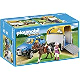 Playmobil 5223 Country Pony Farm Vets SUV with Horse Trailer