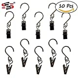 Best Outdoor String Lights - S2S® String Light Hangers Stainless Steel Curtain Clips Review