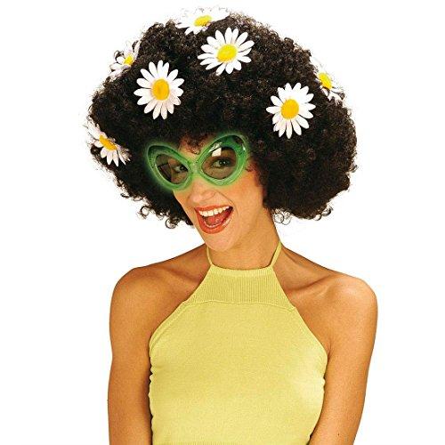 Alien Brille Space Flower Sonnenbrille Sixties Partybrille Disco Scherzbrille Gag Discobrille 60er Jahre Kostüm (Sonnenbrille Alien)