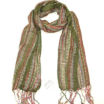 Womens Scarf Green - Beautiful Women's Scarfs - Perfect for Winter and Summer - Shawl Wrap - Gift